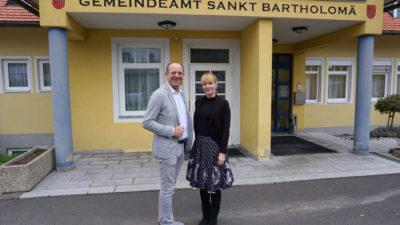 Bezirkshauptfrau zu Besuch in St. Bartholomä