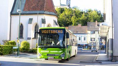 RegioBus startet in der Region